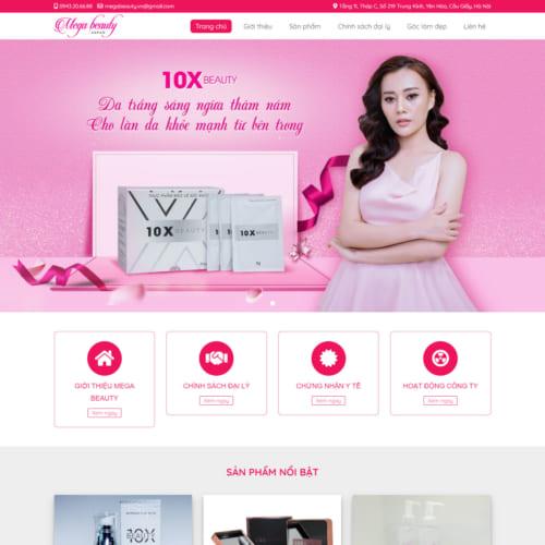 Mẫu Website Công Ty Dược Phẩm MA-265