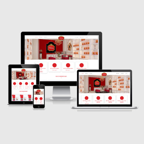 Mẫu Website Cửa Hàng Cung Cấp Nhụy Hoa Nghệ Tây MA-263