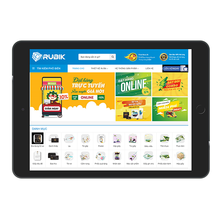 Mẫu Website In Ấn Phẩm MA-264