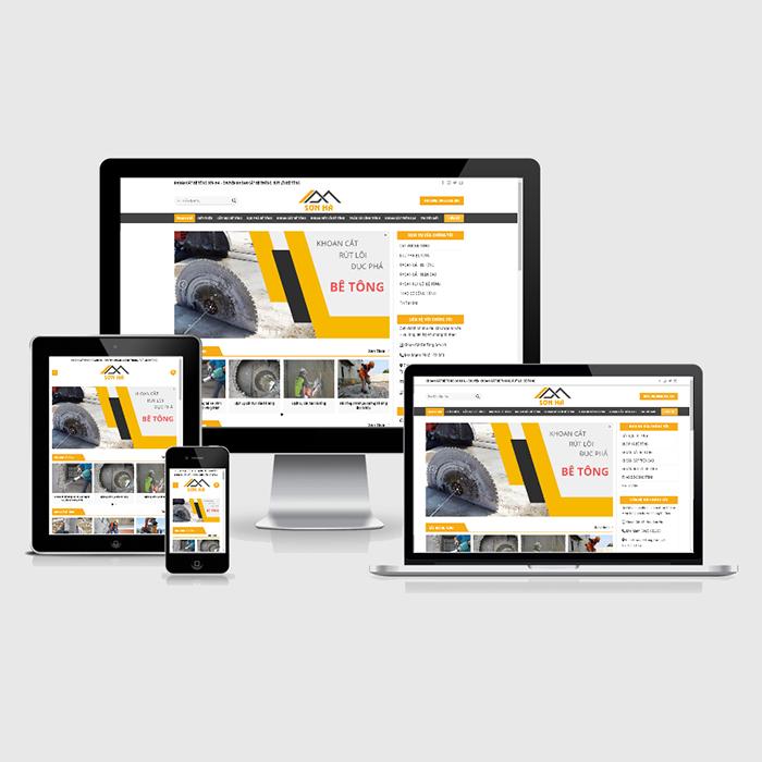 Mẫu Website Khoan Cắt Bê Tông MA-251