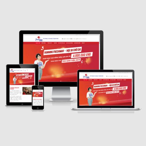 Mẫu Website Trung Tâm Anh Ngữ MA-269