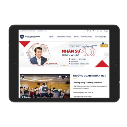 Mẫu Website Tuyển Dụng Đào Tạo Nhân Sự MA-267