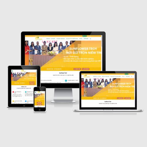 Mẫu Website Cung Cấp Giải Pháp Sản Phẩm Phần Mềm MA-272