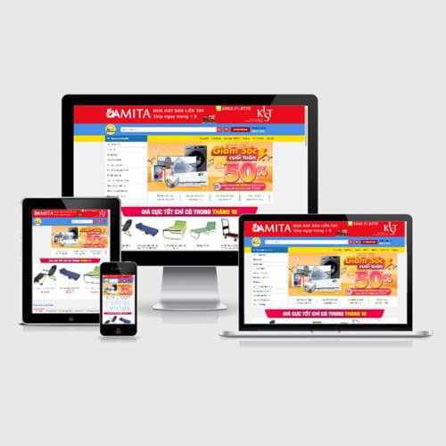 Mẫu Website Đồ Gia Dụng MA-283