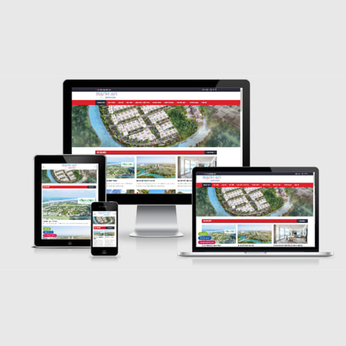 Mẫu Website Bất Động Sản MA-292