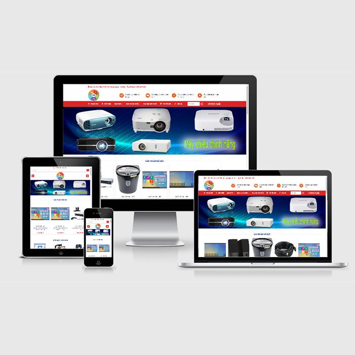 Mẫu Website Sửa Chữa Máy Chiếu MA-302