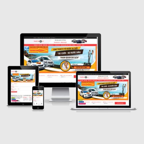 Mẫu Website Taxi Gia Đình MA-286