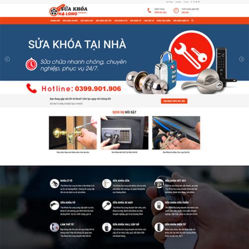 Mẫu Website Thợ Sửa Khóa MA-298