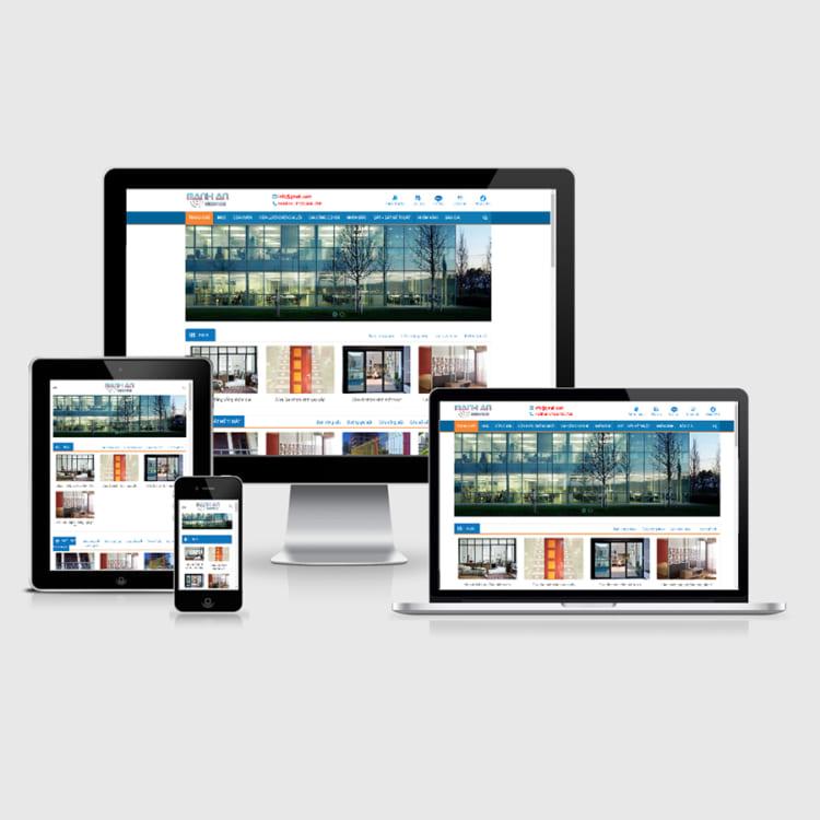 Lợi ích khi thiết kế website bán cửa nhôm kính