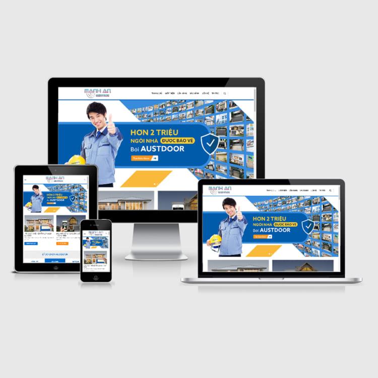 Thiết kế website bán cửa cuốn, có lợi ích gì cho doanh nghiệp ?