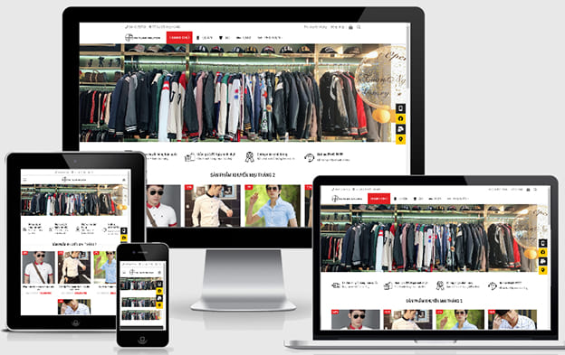 Những lợi ích khi thiết kế website bán quần áo