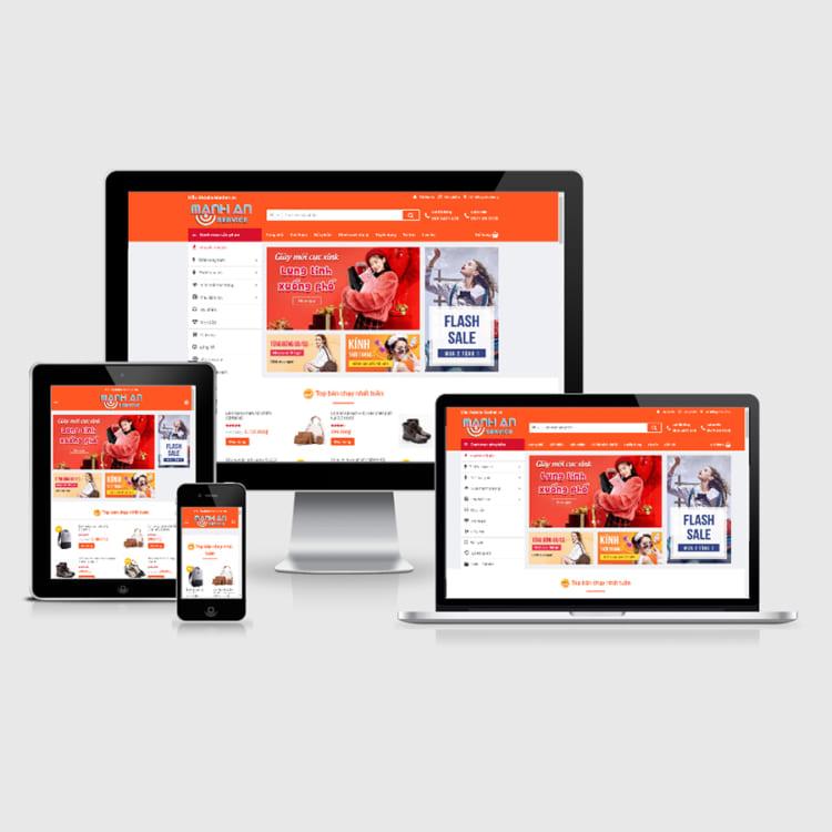 Thiết kế website thời trang tại Hà Nội