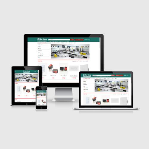 Mẫu Website Thiết Bị Điện MA-309